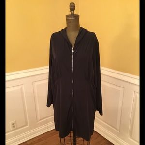 New Coolibar Black Swimsuit Cover-up